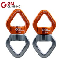 anchor swivels - KN lbs Climbing Rope Swivel Connector Full Ball Bearings Rope Rotating Anchor For Rescue Arborist Hanging Swing