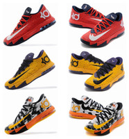 basketball brand names - Name Brand Hot Kevin Durant Kd VI MVP Mens Basketball Shoes Kd6 training shoes athletic Sneakers