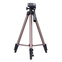 Wholesale WT3130 Aluminum alloy Camera Tripod Stand with Rocker Arm for Canon Nikon Sony DSLR Camera Camcorder Load up to kg