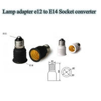 Brass E12 to E14 GS Lamp Adapter E12 To E14 Lamp Holder Converter Lamps Bases Converters E12 Male Adapter to E14 FemaleSocket Free Shipping