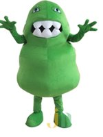 bacteria s - Custom made Green Germ Mascot Costume Green Bacteria Monster Mascot Costume Virus Mascot Costume