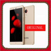achat en gros de zte lte usb-Original ZTE Nubia Z11 Max Téléphone mobile 6.0 pouces Snapdragon 652 MSM8976 Octa Core RAM 4 Go ROM 64 Go Caméra réseau 4G 16MP