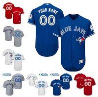 Cheap Baseball Men's custom jersey Best Men Short Toronto Blue Jays Custom jersey