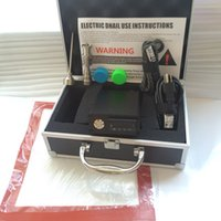 Wholesale e nail dab kit D electric nail e nail quartz banger temperature control PID dabber box tiantium nails mm mm joint water pipe
