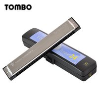 Wholesale TOMBO TongBao hole tremolo harmonica beginner adult instruments bag is teaching students to c to children