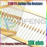 Wholesale NEW k ohm W k Carbon Film Resistors ohm W ROHS