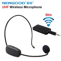 Wholesale Brand of UHF wireless microphone for teaching guides conference style special microphone mic computer MM in