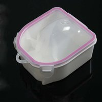 Cheap Nail bubble Bowl Manicure Tools Ladies Supplies Clean Special Foam Hand After Soften Dead Skin Nail Art Equipment Nail Tools 00156L