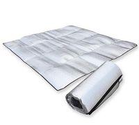 Wholesale Camping Foldable Folding Sleeping Mattress Mat Pad Waterproof Aluminum Foil EVA Outdoor Camping Mat inflatable mattress