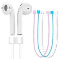 Wholesale 2017 Airpods Anti Lost Strap for apple airpods Iphone Device Preventing Cable headset Bluetooth headset anti lost rope luminous