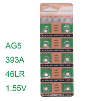 alkaline battery brands - Brand New set AG5 SR754W LR Watch Timer Clock Cell Button Batteries Alkaline horloge batterijen