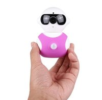 Wholesale Dual P HD Wireless Robot Camera Baby Monitor WIFI Camera Pan Tilt Home Security IP Camera Android Phone Remote CCTV Cam Degree