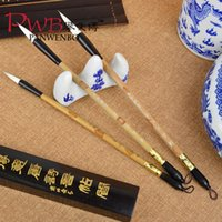 Wholesale Beginners practice calligraphy lake Pen Chinese Calligraphy Brush Chinese Traditional Culture Calligraphy Brush Study Four Treasur