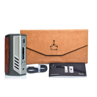 Wholesale AUTHENTIC Lost Vape Triade Triple DNA200 DNA W TC Leather Box Mod DNA W DNA200W Electronic Cigarette