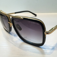 beach goggles - 2017 DITA sunglasses dita Mach One men brand designer square shape retro vintage summer style men sunglasses
