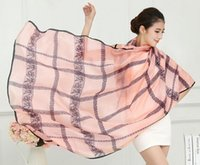 Wholesale 2016 Korea four seasons new lady chiffon scarf solid color scarves four seasons shawls beach towel scarf standard models
