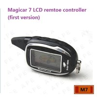 Wholesale Magicar LCD remote controller for Two way car alarm system SCHER KHAN First version LCD Keychain Magicar