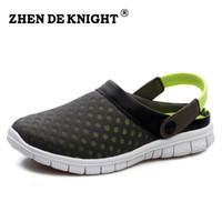 Venta al por mayor-2016 estilo clásico de la marca Unisex playa Flip flops comodidad planos sandalias mujer Mens zapatillas zapatos de moda transpirable