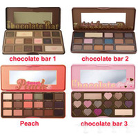 bar wear - in stock Sweet Peach Makeup Eye Shadow Too Faced Chocolate Bar Semi sweet Colors Professional Eyeshadow Palette