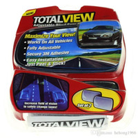 Wholesale Total View Maximize Views Reflector Work On All Vehicles Viewfinder Fully Adjustable Paste Type Degrees Rear Wide Angle Reflectors hk