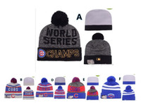 Wholesale Sport KNIT CHICAGO CUBS Baseball Club Beanies Team Hat Winter Caps Popular Beanie Fix Cheap Gift Present