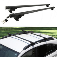 Wholesale 2X For Dodge Journey Car Vehicle Black Luggage Carrier Roof Rack HOLDER DIY CASE L