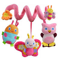 baby cribs store - Multifunction Lovely Baby Bed Hanging Rattle Butterfly Bee Owl Soft Crib Toy Store
