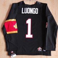 Cheap Youth kids Canada OLYMPIC Jersey 1# Roberto Luongo 2# Duncan Keith 6# Shea Weber 8# Drew Doughty Jerseys