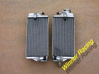 Wholesale Nice quality radiator Hi performance radiator L R ALUMINUM RADIATOR For Honda CR R CR125R STROKE