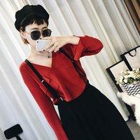 Wholesale 2016 Autumn sweater European goods trend Women thin section sweater Women cardigan short paragraph in autumn