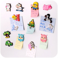 Wholesale wholesales cheap cartoon Silicone fridge magnet home decorative creative magnet rubber refrigerator sticker for familiy or promition