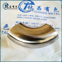 Wholesale 3 inch mm mm thickness degree Titanium Elbows for exhaust pipe Automobile motorcycle exhaust pipe modification