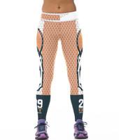 Pantalons de football européens et américains 29 mode d'impression numérique mailles étanche stretch pantalons respirants en plein air SJMD07