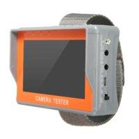 El nuevo probador video audio de la seguridad del LCD del monitor de la prueba de UTP de la cámara del CCTV de 4.3 pulgadas libera el envío