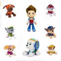 animated puppies - Canine Dog Russian Anime Doll Action Figures Car Puppy Toy Patrulla canina Juguetes Gift for Child minion animate