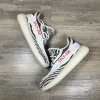 """Cheap 2017 (With Original) Adidas Originals Yeezy 350 Kanye West 350 Boost V2 550 Boost SPLY-350 """"Grey Orange""""BB1826 Running Shoes Free shipping"""