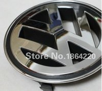 Wholesale NEW VW VOLKSWAGEN FRONT GRILL BADGE EMBLEM PLATING FOR PASSAT CC JETTA A5 SAGITA GOLF TIGUAN MM OEM K5853600