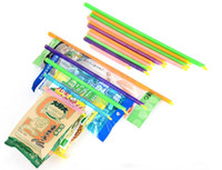 Wholesale New Arrival Magic Bag Sealer Stick Unique Sealing Rods Great Helper For Food Storage Sealing cllip sealing clamp clip JF