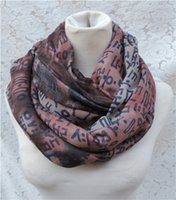Scarf bali sales - Hot Sale Korean alphabet infinity scarf Spring Summer Beach Women All Matched cotton and bali yarn scarves