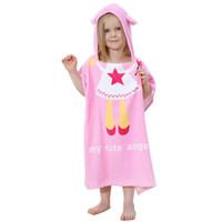 Nightgowns beautiful girl free - IDGIRL Cotton Hooded Fashion Beautiful Style Baby Bathrobe Towel Boys Girls Clothing Pajamas JY0246