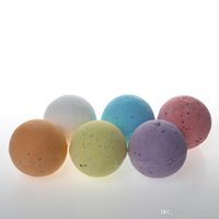 Wholesale Natural Bubble Bath Salt Ball Essential Oil Bath Salt Bombs Handmade Gift Set Six Flavour g oz