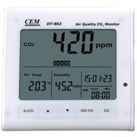 Wholesale CEM DT ppm Desktop Indoor Air Quality CO2 Monitor Multifunction Environment Meter