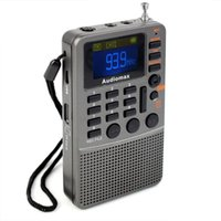 best portable audio recorder - Mini Pocket Radio FM Stereo Radio Receiver Best MP3 Player REC Portable FM Radio Recorder AUX Audio Speaker Red Gray Y4114