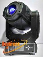 Wholesale 2PCS w led moving head spot light stage led gobo rotate head lighting dmx512 for dj disco stage bar club