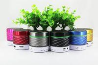 apple bluetooth dock - Direct manufacturers S07u wireless Bluetooth speaker LED Audio Card mini car lights colorful outdoor subwoofer