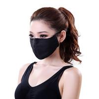 Wholesale Unisex Soft Cotton Mouth Mask PM2 Filter Anti Dust Mask Gas Pollution Mask Health Care Anti fog Haze Masks