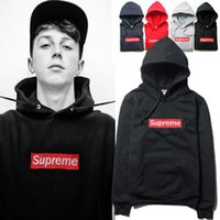 supreme clothing - 2017 Supreme Winter Men hip hop Sport Palace Fleece Skateboards Hoodies Brand Unisex Trainning Sweatshirt Pullover Clothing Hombre Sportwear