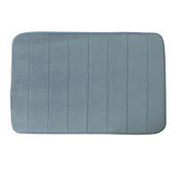 Wholesale Bathroom Non Slip Door Mat Solid Color Soft Foam Bath Rug Mat x inch x cm