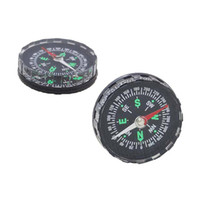 Wholesale Mini Pocket Liquid Filled Button Compass for Hiking Camping Outdoor Nov21