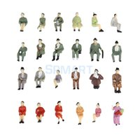 Wholesale New Brand New Painted Model Train HO Seated People Passangers Figures Scale HO to P87